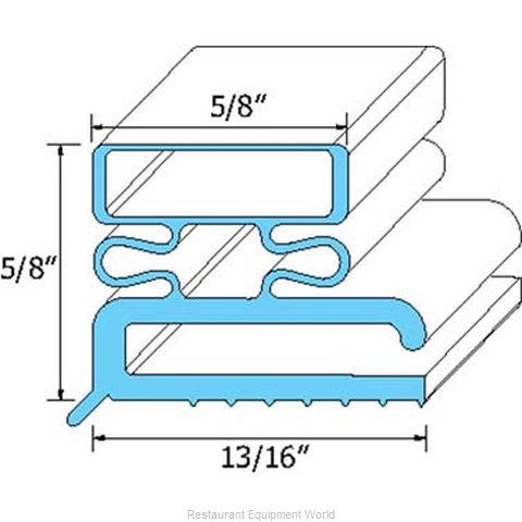 All Points 74-1111 Gasket Refrigeration