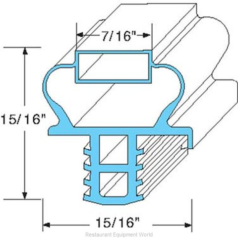 All Points 74-1115 Gasket Refrigeration