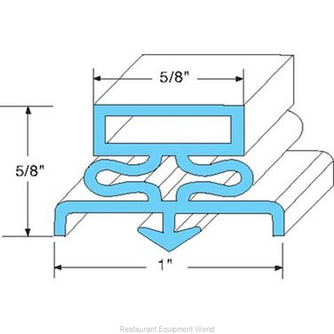 All Points 74-1116 Gasket Refrigeration