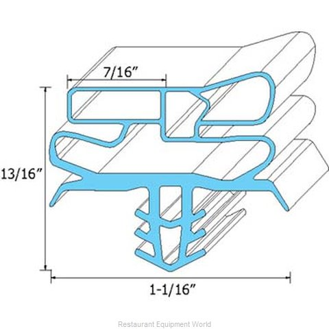 All Points 74-1124 Gasket Refrigeration