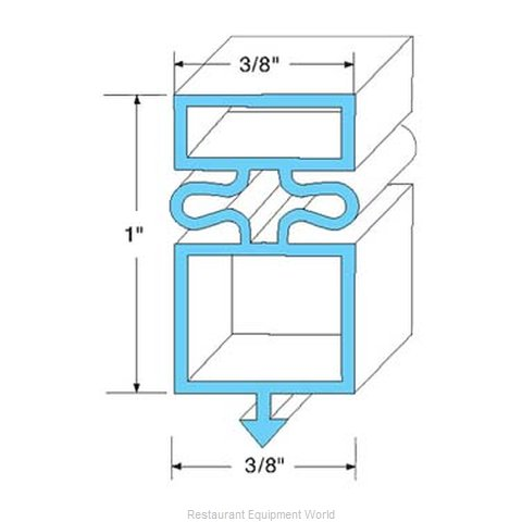 All Points 74-1152 Gasket Refrigeration