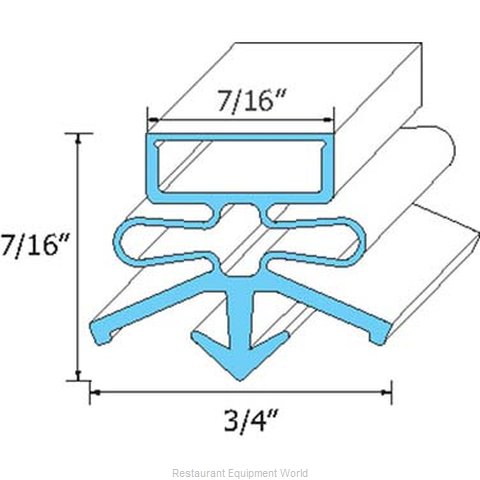 All Points 74-1153 Gasket Refrigeration