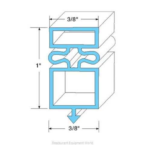All Points 74-1155 Gasket Refrigeration