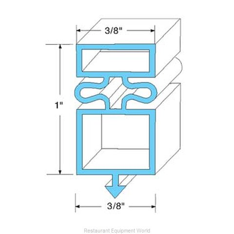 All Points 74-1157 Gasket Refrigeration
