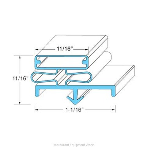 All Points 74-1163 Gasket Refrigeration