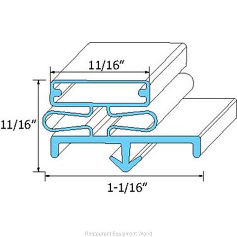 All Points 74-1167 Gasket Refrigeration