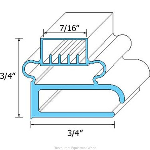 All Points 74-1168 Gasket Refrigeration