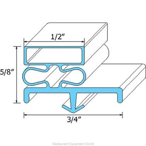 All Points 74-1174 Gasket Refrigeration