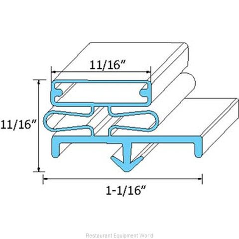 All Points 74-1176 Gasket Refrigeration