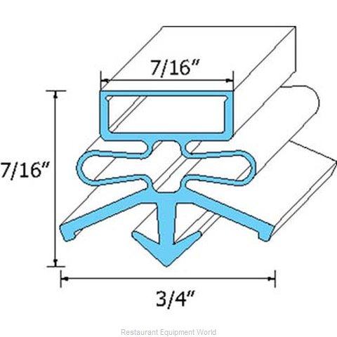 All Points 74-1179 Gasket Refrigeration