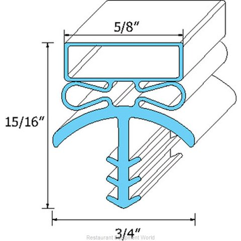 All Points 74-1182 Gasket Refrigeration