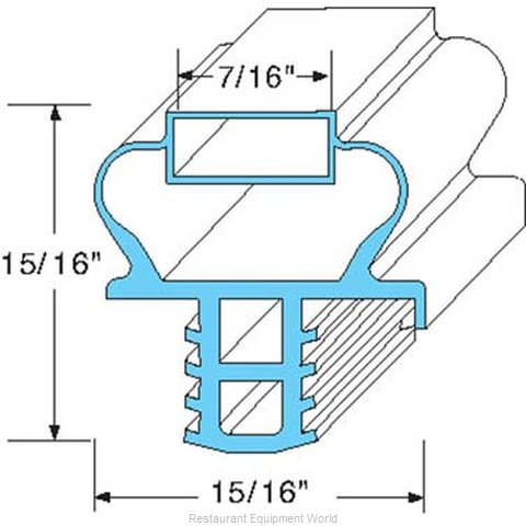 All Points 74-1184 Gasket Refrigeration