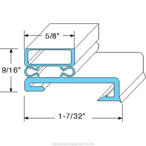 All Points 74-1185 Gasket Refrigeration