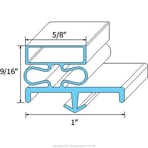 All Points 74-1188 Gasket Refrigeration