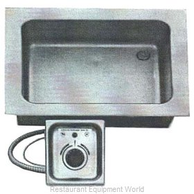 All Points 76-1084 Hot Food Well Unit, Drop-In, Electric