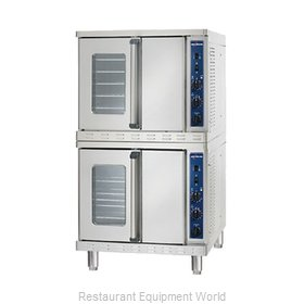 Alto-Shaam 2-ASC-4G/STK Convection Oven, Gas