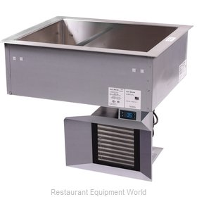 Alto-Shaam 200-CW Cold Food Well Unit, Drop-In, Refrigerated