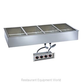 Alto-Shaam 400-HWILF/D4 Hot Food Well Unit, Drop-In, Electric