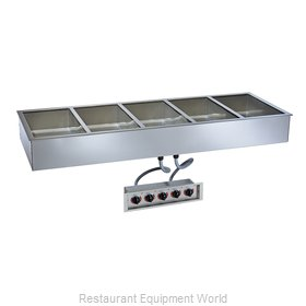 Alto-Shaam 500-HWILF/D6 Hot Food Well Unit, Drop-In, Electric