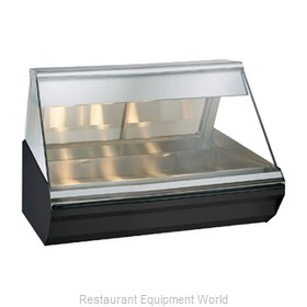 Alto-Shaam EC2-48-BLK Display Case, Heated Deli, Countertop
