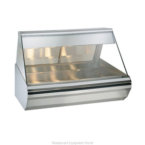 Alto-Shaam EC2-48/P-SS Display Case Heated Deli Countertop (Magnified)