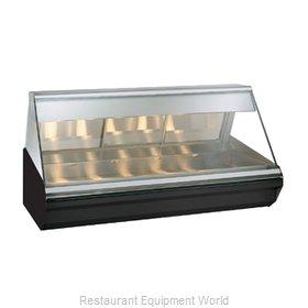 Alto-Shaam EC2-72/PR-BLK Display Case, Heated Deli, Countertop