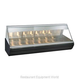 Alto-Shaam EC2-96/PL-C Display Case, Heated Deli, Countertop