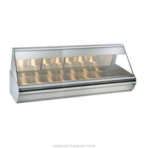 Alto-Shaam EC2-96/PL-SS Display Case Heated Deli Countertop