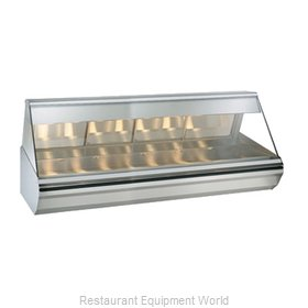 Alto-Shaam EC2-96/PR-SS Display Case, Heated Deli, Countertop