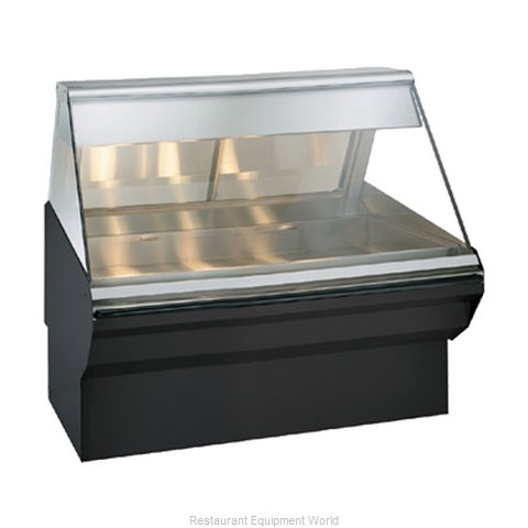 Alto-Shaam EC2SYS-48/P-BLK Display Case Heated Deli Floor Model (Magnified)