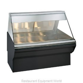 Alto-Shaam EC2SYS-48/P-BLK Display Case, Heated Deli, Floor Model