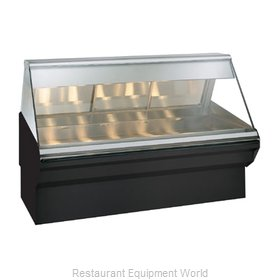 Alto-Shaam EC2SYS-72/P-SS Display Case, Heated Deli, Floor Model