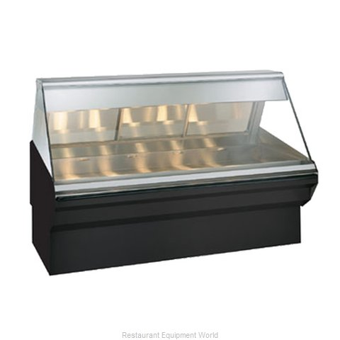 Alto-Shaam EC2SYS-72/PL-BLK Display Case Heated Deli Floor Model (Magnified)