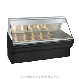 Alto-Shaam EC2SYS-72/PL-BLK Display Case, Heated Deli, Floor Model
