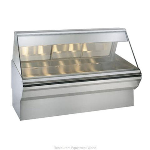 Alto-Shaam EC2SYS-72/PR-SS Display Case, Heated Deli, Floor Model (Magnified)