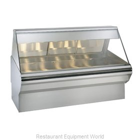 Alto-Shaam EC2SYS-72/PR-SS Display Case, Heated Deli, Floor Model