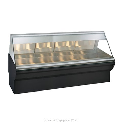 Alto-Shaam EC2SYS-96/PR-SS Display Case Heated Deli Floor Model