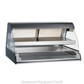 Alto-Shaam ED2-48/2S-BLK Display Case, Heated Deli, Countertop