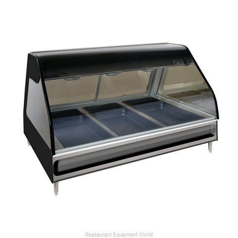 Alto-Shaam ED2-48-BLK Display Case, Heated Deli, Countertop (Magnified)