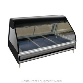 Alto-Shaam ED2-48-BLK Display Case, Heated Deli, Countertop