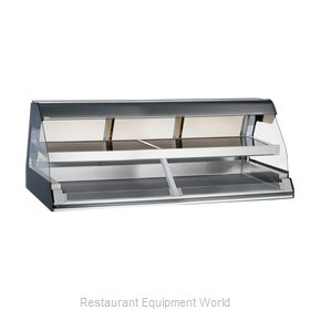 Alto-Shaam ED2-72/2S-BLK Display Case, Heated Deli, Countertop