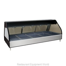 Alto-Shaam ED2-72/P-BLK Display Case, Heated Deli, Countertop