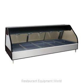 Alto-Shaam ED2-72/PR-BLK Display Case, Heated Deli, Countertop