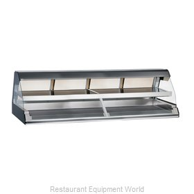 Alto-Shaam ED2-96/2S-SS Display Case, Heated Deli, Countertop
