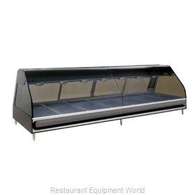 Alto-Shaam ED2-96-BLK Display Case, Heated Deli, Countertop