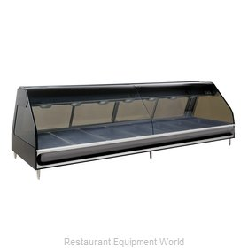 Alto-Shaam ED2-96/PL-BLK Display Case, Heated Deli, Countertop