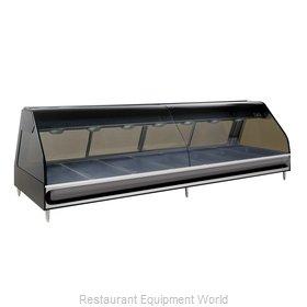 Alto-Shaam ED2-96/PR-BLK Display Case, Heated Deli, Countertop