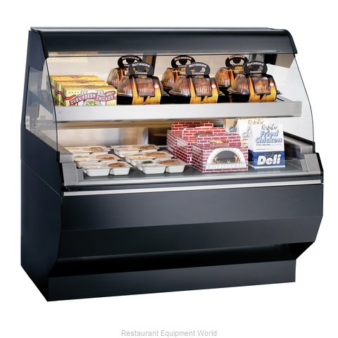 Alto-Shaam ED2SYS-48/2S-BLK Display Case, Heated Deli, Floor Model