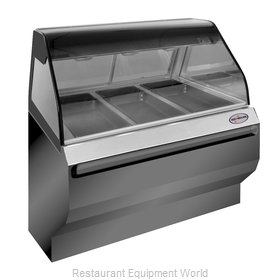 Alto-Shaam ED2SYS-48/P-BLK Display Case, Heated Deli, Floor Model