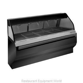 Alto-Shaam ED2SYS-72-BLK Display Case, Heated Deli, Floor Model